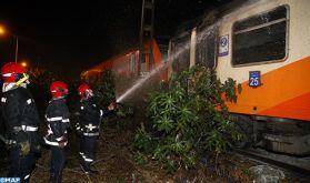 Un train assurant la liaison Marrakech-Tanger contraint de s'arrêter après le déclenchement d'un feu dans les toilettes d'une voiture (ONCF)