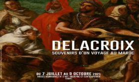 """Rabat abrite l'exposition """"Delacroix, souvenirs d'un voyage au Maroc"""", une première en Afrique et dans le monde arabe"""