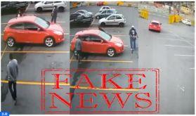 La DGSN nie catégoriquement que la vidéo montrant l'enlèvement d'une femme dans un parking ait été enregistrée au Maroc