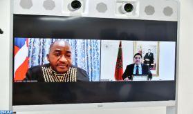 M. Bourita s'entretient avec son homologue libérien