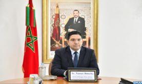 Le Maroc réitère son engagement inébranlable en faveur de la paix régionale (M. Bourita)