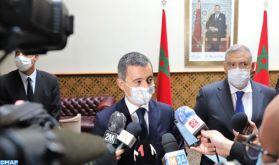 "La coopération franco-marocaine est ""nécessaire"" (M. Darmanin)"