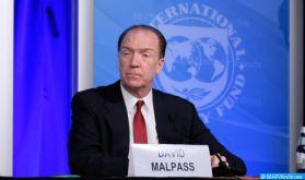 Le président de la BM félicite le Maroc pour sa stratégie proactive pour atténuer les effets de la crise