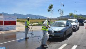 Covid-19: Huit stations de stérilisation de véhicules mises en place dans la préfecture de M'diq-Fnideq