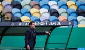Liga : L'entraîneur de l'Atletico de Madrid testé positif au Covid-19