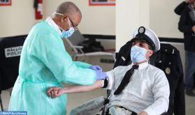 Lutte contre le coronavirus : Collecte de sang à la préfecture de police de Laâyoune