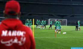 Eliminatoires Mondial-2022 (2e journée/mise à jour): le Maroc se qualifie pour les barrages après sa victoire face à la Guinée (4-1)