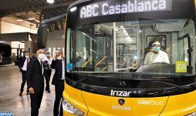 Assemblage de bus Irizar: le taux d'intégration locale dépasse 40% (Elalamy)
