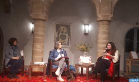 """Présentation à Essaouira du roman """"Pourvu qu'il soit de bonne humeur"""" de Loubna Serraj"""