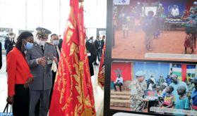 Inauguration à Rabat de l'Exposition des FAR sur la contribution du Maroc aux opérations de maintien de la paix et à l'action humanitaire dans le monde
