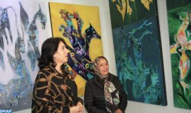 Casablanca: Laila Benhalima et Khadija El Fahli exposent leurs œuvres