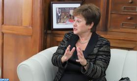 Mme Georgieva exprime sa confiance dans la réussite de l'organisation des assemblées annuelles du FMI et de la BM en 2021 à Marrakech