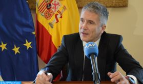 """La coordination avec le Maroc est """"à son meilleur niveau"""" (ministre espagnol de l'Intérieur)"""