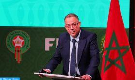 Fouzi Lekjaa candidat au poste de membre du conseil de la FIFA (communiqué)