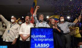 L'Equateur élit un conservateur de droite à la présidence, Guillermo Lasso
