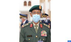 Visite au Maroc d'une délégation militaire des Emirats Arabes Unis sous la direction du Général de Division, Chef d'Etat-Major des Forces Armées Emiraties