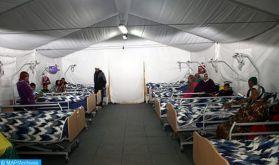 Covid-19 : Lancement des travaux d'aménagement d'un hôpital de campagne à Béni Mellal