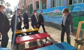 El Jadida : M. Amzazi visite plusieurs établissements et projets scolaires