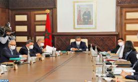 Réunion du Conseil de Gouvernement sous la présidence de M. Aziz Akhannouch