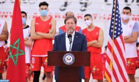 Les Etats Unis d'Amérique engagés à soutenir le développement du sport au Maroc (diplomate américain)