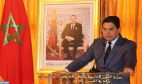 Le règlement du conflit autour du Sahara marocain tributaire d'un dialogue entre les deux véritables parties, le Maroc et l'Algérie (Bourita)