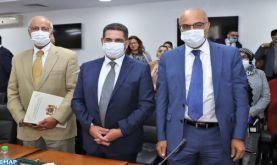 Passation des pouvoirs entre MM. Amzazi et Ouaouicha et M. Miraoui