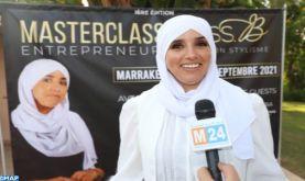 Stylisme : Master Class à Marrakech sur la création d'entreprises, au profit de 37 femmes de différentes nationalités