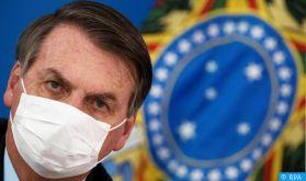 Covid-19: Le président brésilien rétabli