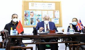 Mémorandum d'entente pour l'échange d'expertises entre Khalil Gibran School et l'école britannique OGHSI