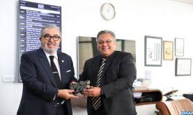 Le Directeur général de la MAP s'entretient avec l'ambassadeur d'Afrique du Sud au Maroc