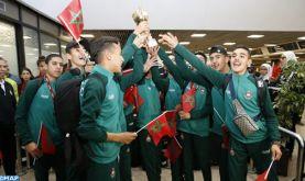 Casablanca: L'équipe nationale scolaire de cross-country accueillie avec les honneurs