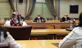 M.Laftit tient une réunion avec l'instance féminine pour le renforcement de la représentativité politique des femmes