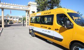 INDH: Remise de 8 bus scolaires au profit des communes rurales de la province de Larache