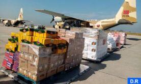 Arrivée à Beyrouth du premier lot des aides alimentaires destinées sur Hautes instructions Royales aux forces armées et au peuple libanais
