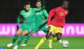 Amical: l'équipe nationale des joueurs locaux bat son homologue guinéenne (2-1)