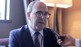 M. Benchamach représente SM le Roi à la cérémonie d'investiture du président uruguayen