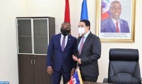 Par l'ouverture d'une ambassade à Rabat et d'un consulat à Dakhla, Haïti confirme son appui à l'intégrité territoriale du Maroc (MAE haïtien)