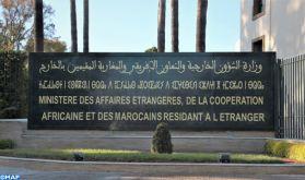 Conditions d'accès au territoire national: les précisions du Ministère des Affaires étrangères, de la Coopération Africaine et des Marocains Résidant à l'Etranger (Communiqué)
