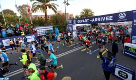 L'athlète marocain Hicham Laqouahi remporte la 31è édition du marathon international de Marrakech