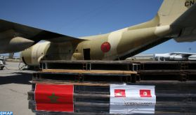 Covid-19: De hauts responsables tunisiens saluent l'initiative de SM le Roi d'envoyer une aide médicale d'urgence à leur pays