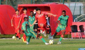 Foot/Amical: La sélection nationale U20 s'impose face à son homologue mauritanienne (3-1)