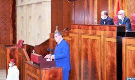 Le renforcement des piliers de l'Etat social, la stimulation de l'économie nationale et la consécration de la bonne gouvernance, les axes majeurs du programme gouvernemental (M. Akhannouch)