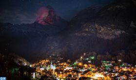Solidarité: La célèbre montagne de Cervin illuminée aux couleurs du drapeau marocain