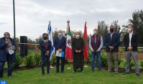 """Mexique : les ambassadeurs du Maroc et d'Israël relèvent le """"défi vert"""" et plantent 66 arbres à Mexico"""