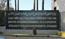 Les Missions diplomatiques et Organisations internationales accréditées au Maroc informées des mesures prises par le Maroc afin de garder le Coronavirus sous contrôle