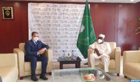 Sécurité sanitaire : La solidarité agissante de SM le Roi envers les pays africains hautement saluée par le Président de la Commission de l'UA