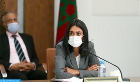 Mme Fettah Alaoui prend part à la 104ème réunion du Comité de développement