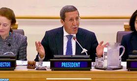 ONU: l'ambassadeur Hilale préside une réunion de haut niveau sur le Sahel Central