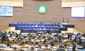 Le Rapport de SM le Roi Mohammed VI sur le suivi de la mise en place de l'Observatoire africain des Migrations au Maroc, présenté devant le sommet de l'UA
