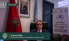 Arganier: L'ONU conforte la vision Royale pour la valorisation de ce patrimoine (Omar Hilale)